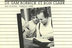 «Un sur six», couvert du programme, 1982