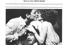 «Meurtre à l_Auberge des Gouverneurs», couvert du programme, 1983