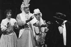 «Les femmes savantes», Lisette St-Gelais, Yves Jacques, Andrée Samson, 1986. Photo: Léopold Rousseau.