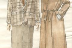 Une folie», costume créé par Caroline Drouin, 1986