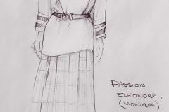 «Passion»,  costumes créés par Caroline Drouin, 1987