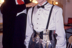 «Souriez Mlle Robi», Line Bussière et Yves Jacques en essayage, 1987