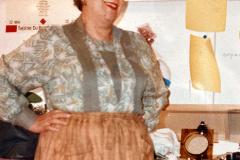 «Fanny», le beau sourire de Clairette en loge, 1987.