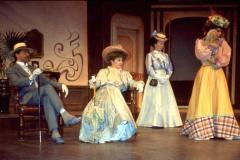 «Tailleur pour dames», Jacques Lessard, Lisette St-Gelais, Ghyslaine Vincent, Guylaine Tremblay, 1988