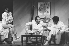 «Les voisins», Jean-Jacqui Boutet, Micheline Bernard, Louis-Georges Girard, Frédérike Bédard, Céline Bonnier,  Guylaine Tremblay, 1988