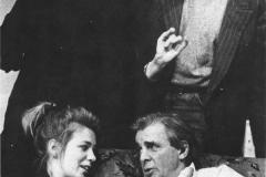 «Qui a peur de Virginia Woolf?» Céline Bonnier, Jean Besré, Monique Miller, Benoît Gouin, 1989