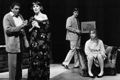 «Qui a peur de Virginia Woolf?», Jean Besré, Monique Miller, Benoît Gouin, Céline Bonnier, 1989