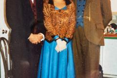 «Topaze», en loge avec Albert Millaire, Carole Nadeau, André Lachance, 1989