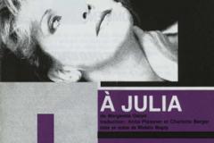 «À Julia», couvert du programme, 1990