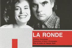 «La ronde», couvert du programme, 1990