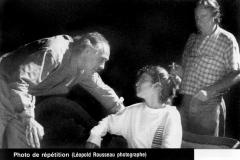 «La ronde», Jean-René Ouellet, Agnès Zacharie, François Tassé, 1990
