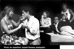 «La ronde»,  Patricia TuIasne, Jules Phillip, Véronique Aubut, Dominique Briand, Normand Bissonnette, 1990