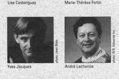 «Le point de non retour», distribution, 1991