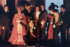 «Cent millions qui tombent»,  toute la troupe, 1992 (photo : Léopold Rousseau)