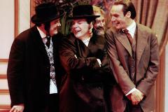 «Cent millions qui tombent»,  Jean-Jacqui Boutet, Simon Fortin, Roland Lepage, Benoît Gouin, 1992 (photo : Léopold Rousseau)