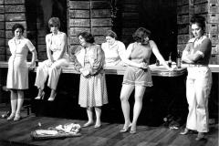 «Jimmy Dean...», Brigitte Fournier, Josée Deschênes, Johanne Émond, Odette Lampron, Linda Laplante, Louise Allaire