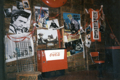 «Jimmy Dean...», photo du décor créé par Jean Hazel