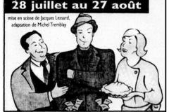 «Le gars de Québec», publicité journal, extrait, 1994
