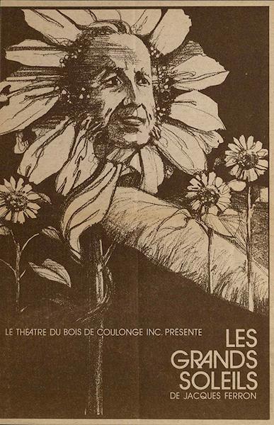 Affiche de la première pièce présentée au TBC