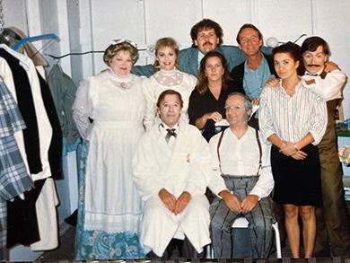 Élémentaire mon cher, en loge, 1988